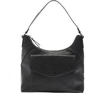 Czarna torebka damska Graceland z zewnętrzną kieszenią