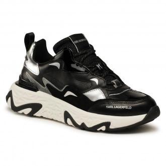 Sneakersy KARL LAGERFELD - KL62420 Black Lthr
