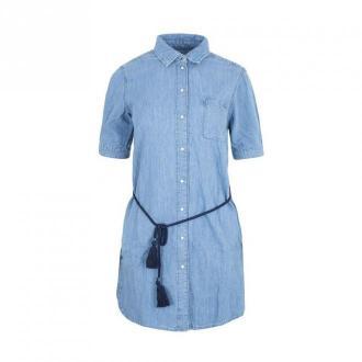 Pepe Jeans Sukienka Sukienki Niebieski Dorośli Kobiety Rozmiar: XS