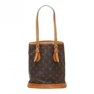 Louis Vuitton Petit Bucket Torby Brązowy Dorośli Kobiety Rozmiar: