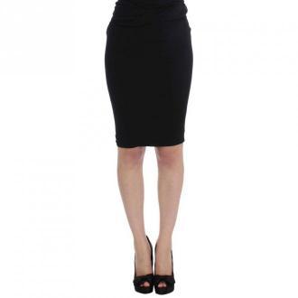 Karl Lagerfeld Straight Pencil Skirt Spódnice Czarny Dorośli Kobiety