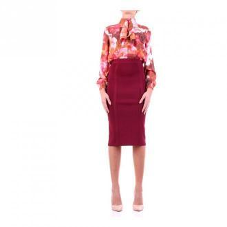 Guess 0Bg772-5036Z Sukienka Sukienki Czerwony Dorośli Kobiety Rozmiar: