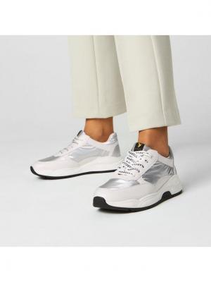 Marella Sneakersy Minerva 67660106 Srebrny