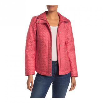 Michael Kors kurtka pikowana Kurtki Różowy Dorośli Kobiety Rozmiar: L