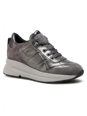 Geox Sneakersy D Backsie B D04FLB 0BN22 C1G9F Szary