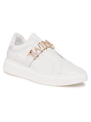 TwinSet Sneakersy 202TCP034 Biały