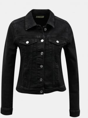 Czarna kurtka jeansowa TALLY WEiJL - XS