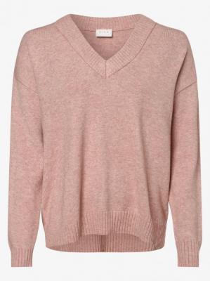 Vila - Sweter damski – VIRil, różowy