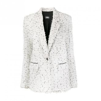 Karl Lagerfeld Jacket Kurtki Biały Dorośli Kobiety Rozmiar: 44