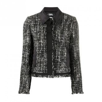 Karl Lagerfeld Jacket Kurtki Czarny Dorośli Kobiety Rozmiar: 46 IT