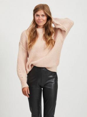 Różowy sweter VILA - M