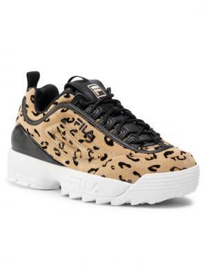Fila Sneakersy Disruptor Premium A Wmn 1011021.30Z Brązowy