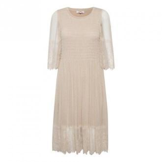 Cream Messia Sukienka Sukienki Beżowy Dorośli Kobiety Rozmiar: XL