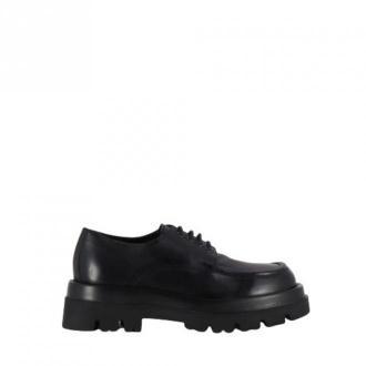 Lemaré Leather derby shoes 2469 Obuwie Czarny Dorośli Kobiety Rozmiar: