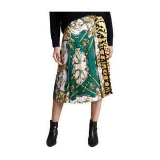 Essentiel Antwerp Midi Skirt Spódnice Biały Dorośli Kobiety Rozmiar: