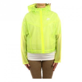 Nike Jackets Kurtki Żółty Dorośli Kobiety Rozmiar: M