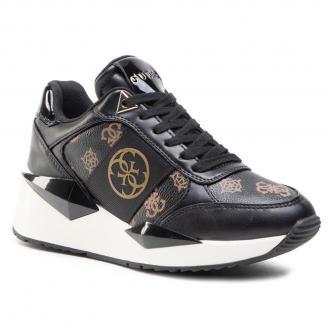 Sneakersy GUESS - Tesha FL5TES FAL12 BRBLK