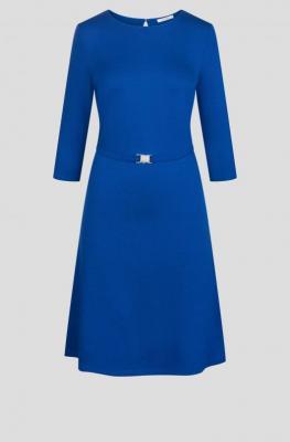 Wiskozowa sukienka z paskiem
