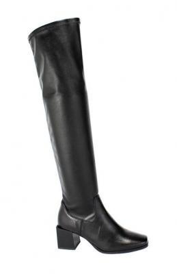 Kozaki Euro Moda 20 3629/076-P Czarny Skóra