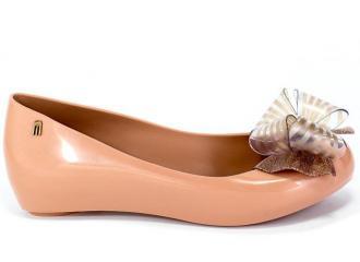 Baleriny Letnie Melissa 32716 53328 Pink/Pink Glitter Róż