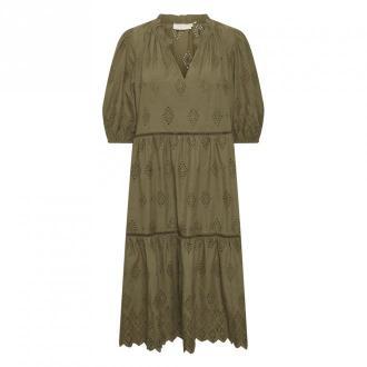 Karen by Simonsen FilippaKB Sukienka Sukienki Zielony Dorośli Kobiety