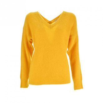 Morgan Jumper Swetry i bluzy Żółty Dorośli Kobiety Rozmiar: XS