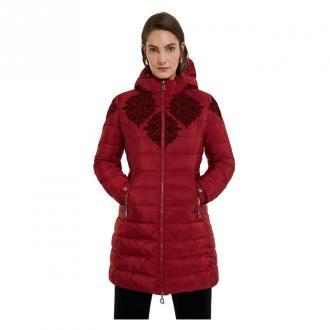 Desigual Jacket Kurtki Czerwony Dorośli Kobiety Rozmiar: 2XL