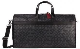 Calvin Klein czarna torba Duffle Bag