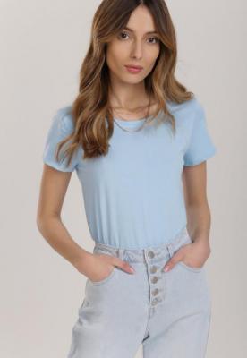 Jasnoniebieski T-shirt Kahlisiphe