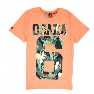 Superdry T-Shirt Koszulki i topy Pomarańczowy Dorośli Kobiety Rozmiar: