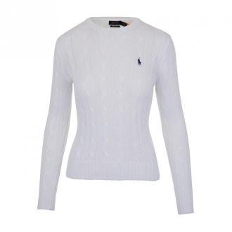 Polo Ralph Lauren Pullover Swetry i bluzy Biały Dorośli Kobiety