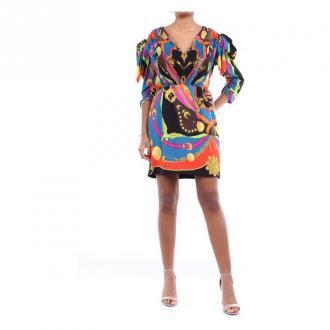 Versace Versace A85337A233265 Short Women Fantasy Sukienki Czarny