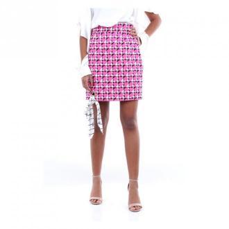 Versace A85624A232908 miniskirt Spódnice Różowy Dorośli Kobiety