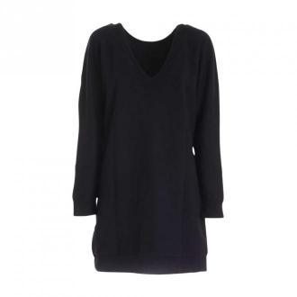 Karl Lagerfeld Long Sweater Bluzki i koszule Czarny Dorośli Kobiety