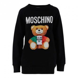 Moschino Sweater Swetry i bluzy Czarny Dorośli Kobiety Rozmiar: 42 IT