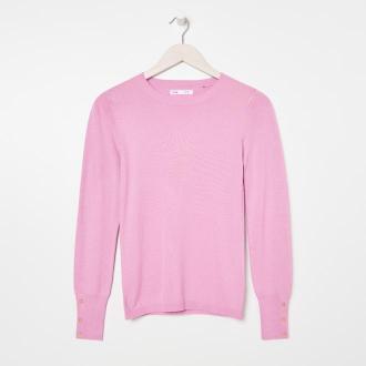 Sinsay - Sweter - Różowy