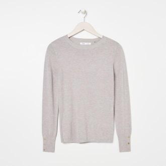 Sinsay - Sweter - Jasny szary