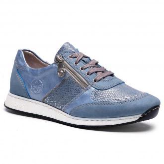 Sneakersy RIEKER - 56030-12 Blau