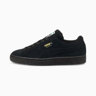PUMA Młodzieżowe Buty Sportowe Suede Classic XXI, Czarny, rozmiar 35,5, Obuwie