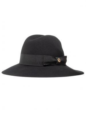 Trussardi Jeans Kapelusz Hat Ovale Mettallico 59Z00242 Czarny