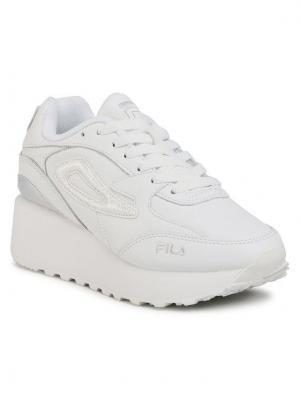 Fila Sneakersy Doroga Zeppal Wmn 1011039.93E Biały