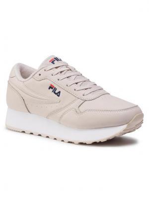 Fila Sneakersy Orbit Zeppa L 1010311.31B Beżowy