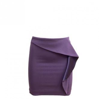 Versace Mini Skirt Spódnice Fioletowy Dorośli Kobiety Rozmiar: 36 IT