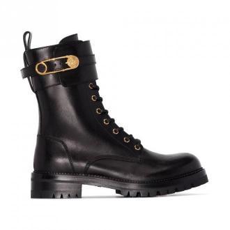 Versace Boots Obuwie Czarny Dorośli Kobiety Rozmiar: 36