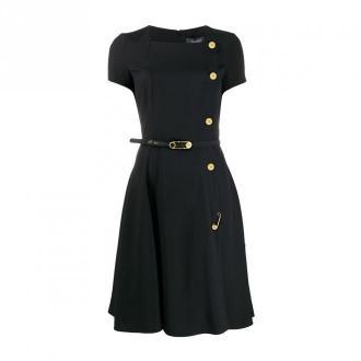 Versace Dress Sukienki Czarny Dorośli Kobiety Rozmiar: S - 42 IT