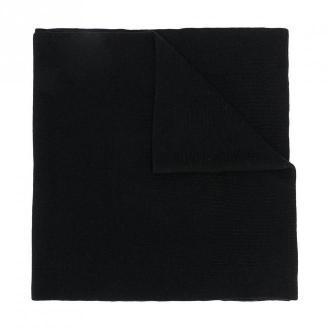 Karl Lagerfeld Scarf / Embroidery Scarf Akcesoria Czarny Dorośli