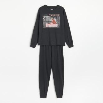 Reserved - Piżama ze spodniami Disney - Szary