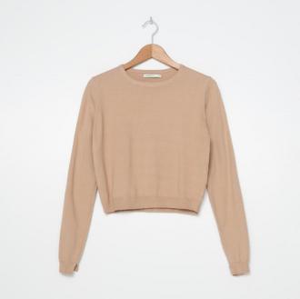 House - Sweter z wiskozą - Kremowy