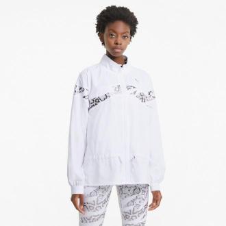 PUMA Damska Kurtka Treningowa Z Tkaniny UNTMD, Biały, rozmiar XS, Odzież