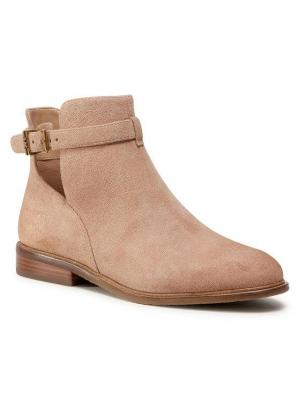 MICHAEL Michael Kors Botki Lawson Bootie 40T0LAFE5S Beżowy